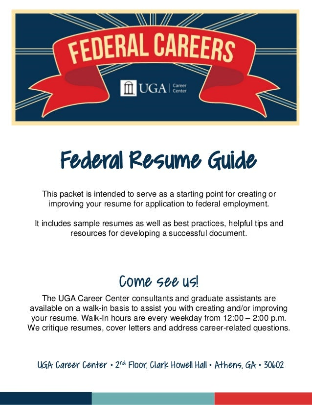 Delightful This Packet Is Intended To Serve As A Starting Point For Creating Or  Improving Your Resume ... In Uga Career Center Resume