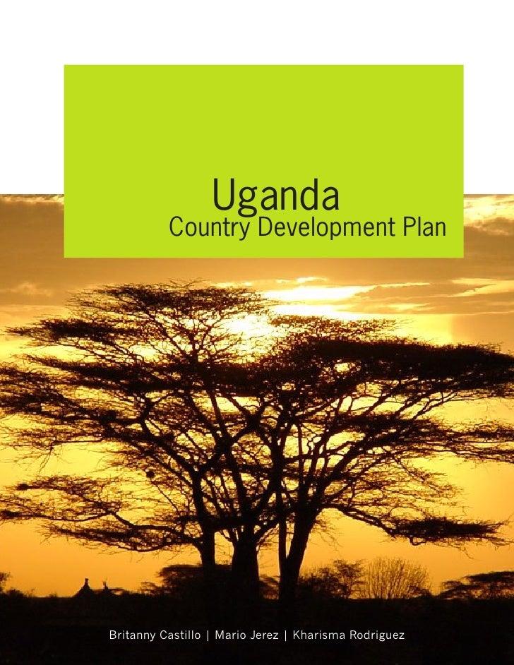 Uganda Country Plan