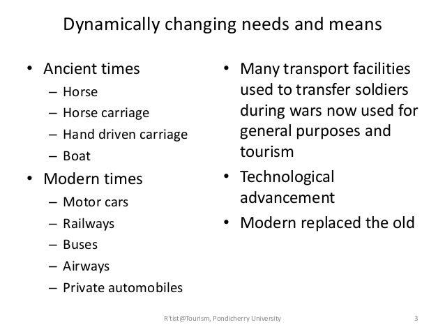 Tourism Transportation