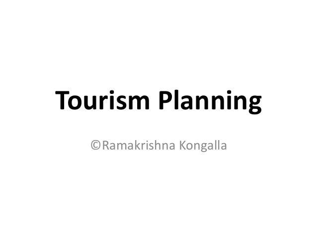 Tourism Planning©Ramakrishna Kongalla