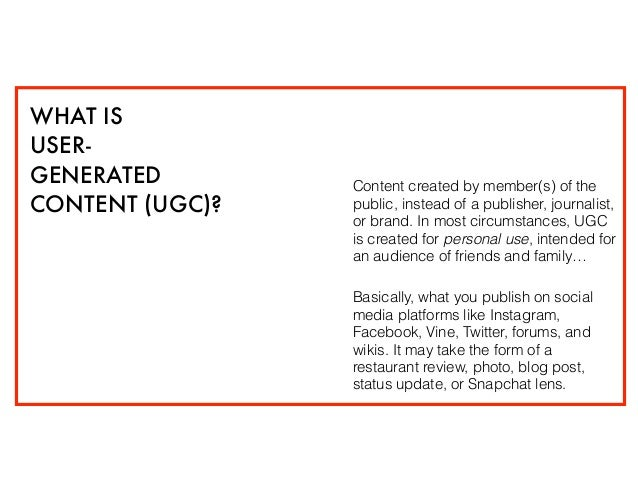 User-Generated Content: Do You Really Need It? Slide 2