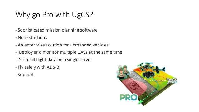 UgCS For Professionals (with screenshots)