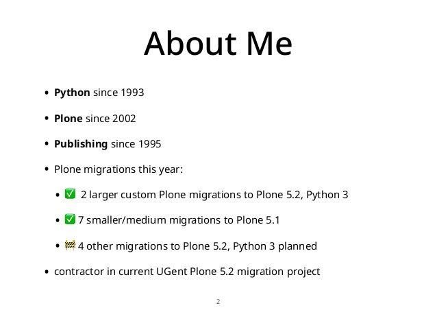 Plone 5.2 migration at University Ghent, Belgium Slide 2