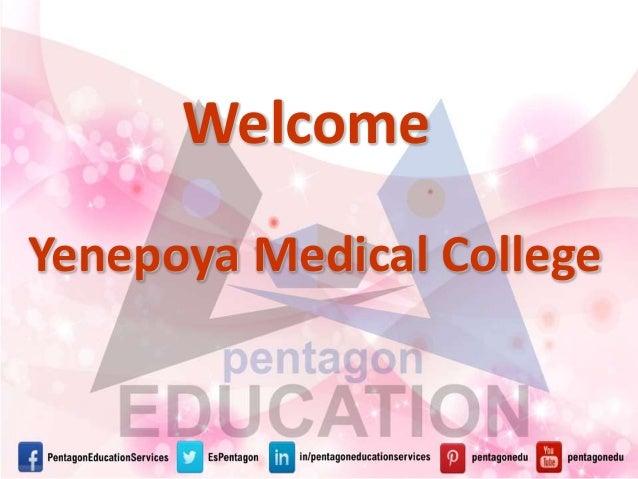 Yenepoya Medical College Welcome