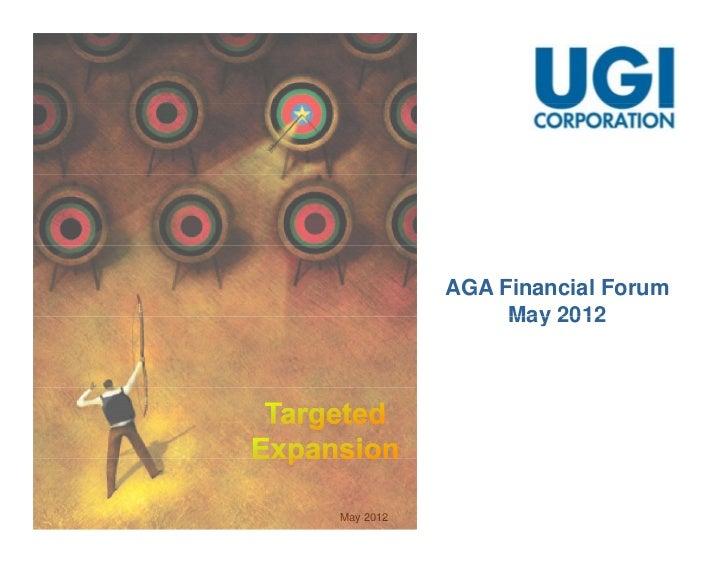 AGA Financial Forum                May 2012May 2012