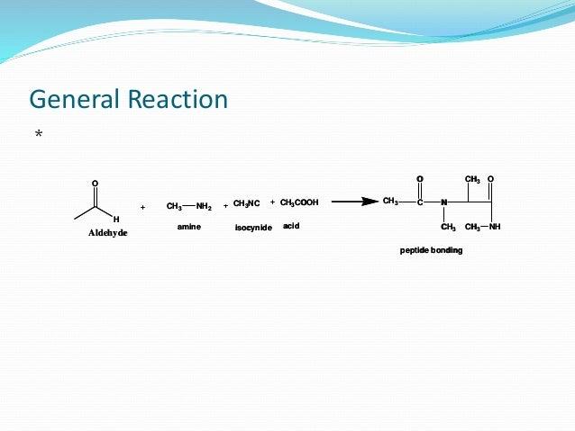 UGI Reaction & Brook rearrangement Slide 3