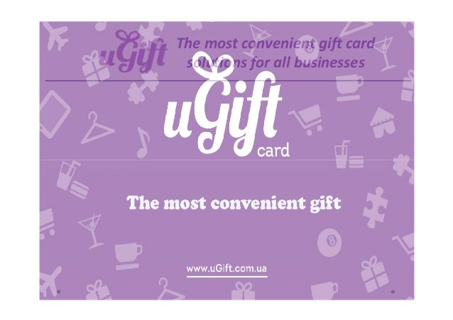 The most convenient gift card solutions for all businesses