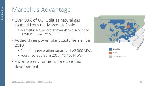Ugi Natural Gas Service Area