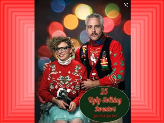 Ugly Christmas Sweater Party Part 2 Of 2