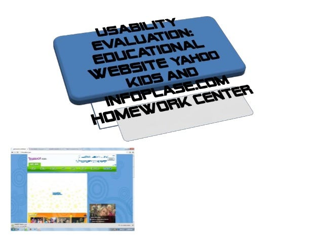 OBJECTIVE   To examined the   usability evaluation of   education websites for   children  LIMITATIONSLIMITATIONS    Study...
