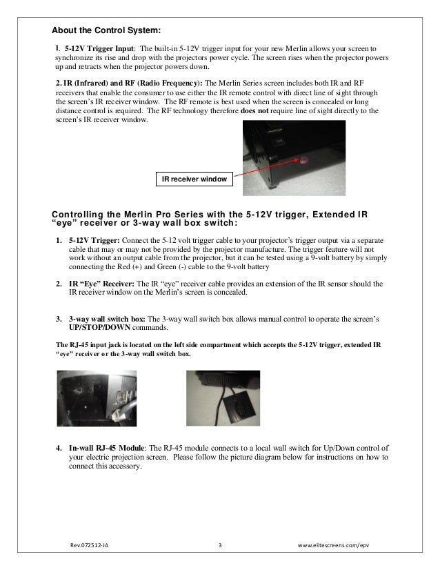 elite projection screen user guide merlin proseries 3 638?cb=1392723211 elite projection screen user guide merlin pro_series projector screen switch wiring diagram at mifinder.co