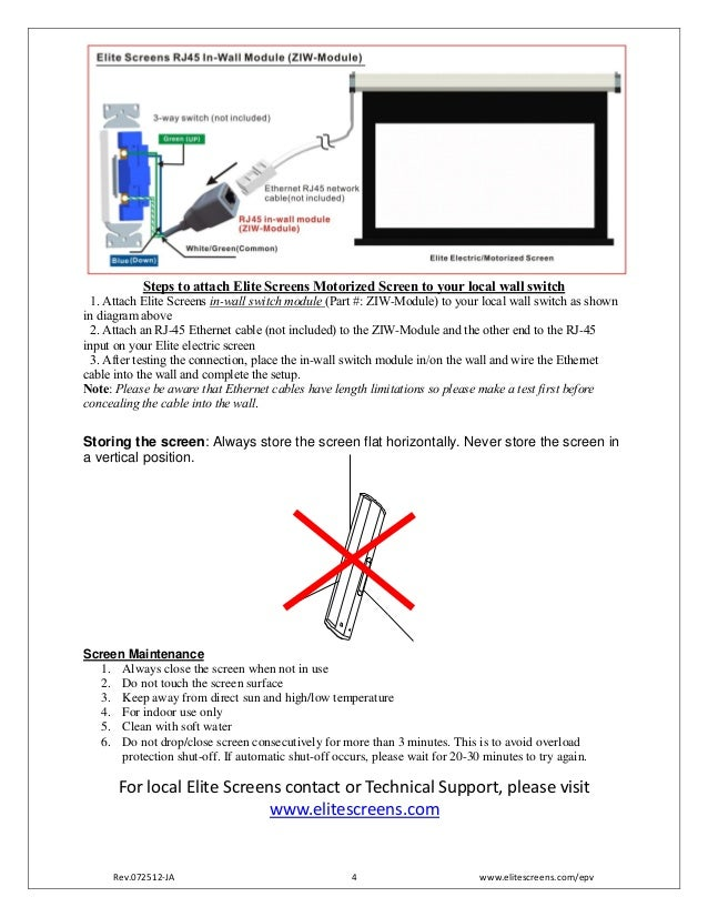 elite projection screen user guide merlin proseries 4 638?cb=1392723211 elite projection screen user guide merlin pro_series projector screen switch wiring diagram at mifinder.co