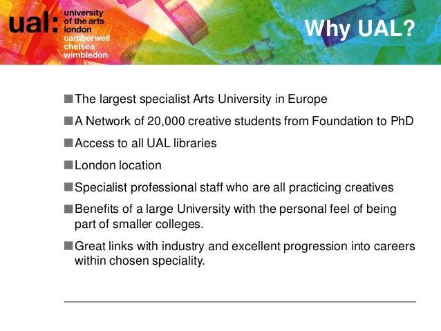 Chelsea College of Arts, Undergraduate Applicants 2016-17