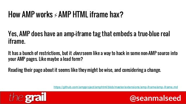 Get AMP'ed for Accelerated Mobile Pages - SEO Grail Philadelphia 1/20…