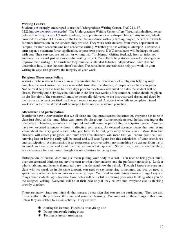 Major part of term paper