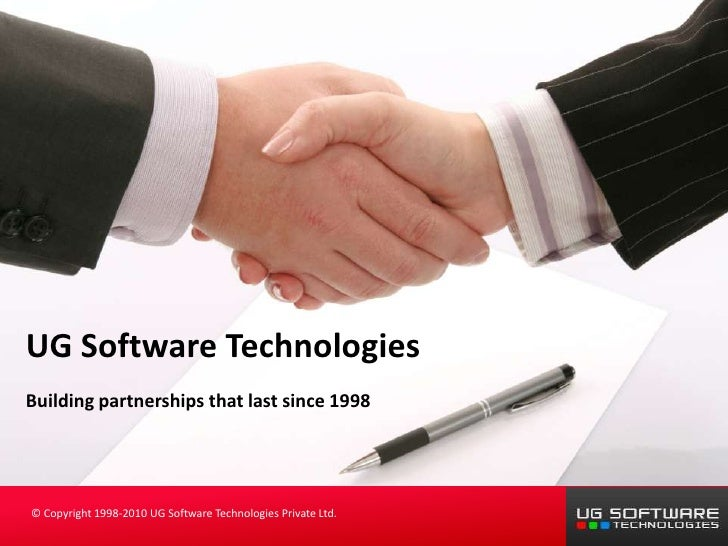 UG Software Technologies Building partnerships that last since 1998                                                       ...