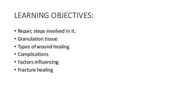 Ug wound healing Slide 2