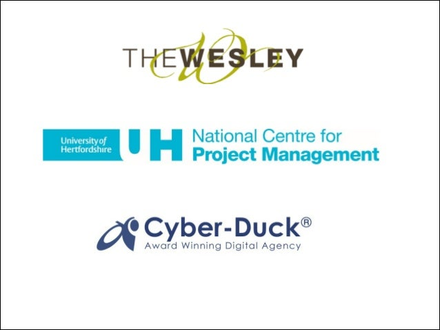 16  Oct 2013  Project management at Cyber-Duck Delivering multiple innovative projects with few resources