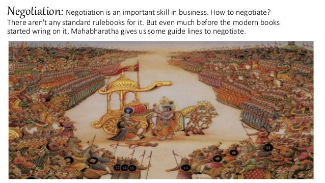 mahabharata and management 15 important life lessons from the mahabharata that are relevant even today x  but there are plenty of life lessons one can learn from the mahabharata .