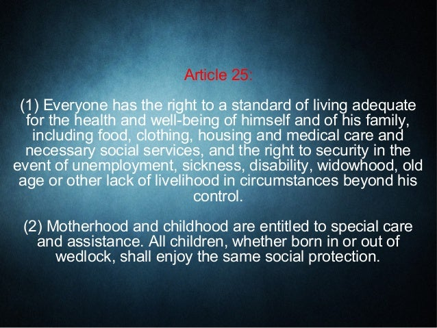 "article 21 rihgt to life Article 21 of the indian constitution says, ""no person shall be deprived of his life or personal liberty except according to procedure established by law"" right to life doesn't mean just living but it means living with dignity as right to life is a right given on grounds of being a human right, on the same grounds."