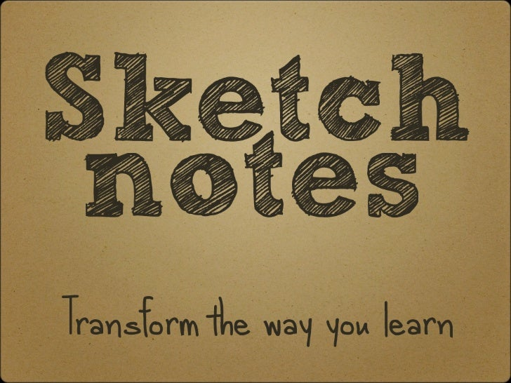SketchnotesTransform the way you learn