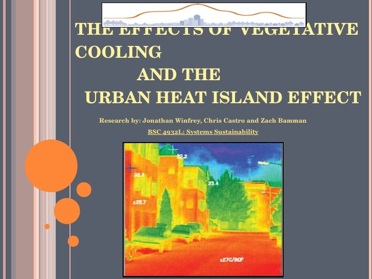 Measuring Heat Islands