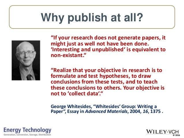 publishing scientific research papers All publicly funded scientific papers published in europe could be made free to access by  a concept that also includes improved storage of and access to research data, science magazine reports.