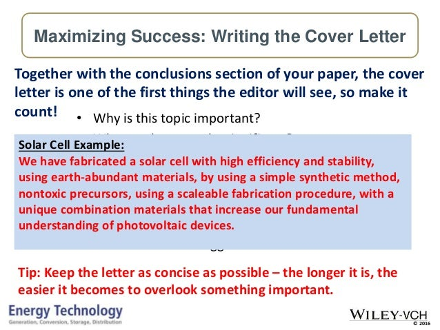 publishing high quality research papers