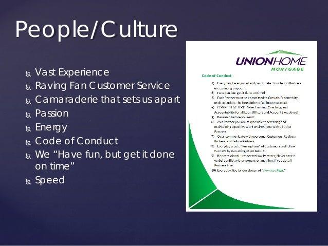 Union Home Mortgage Value Slide 3