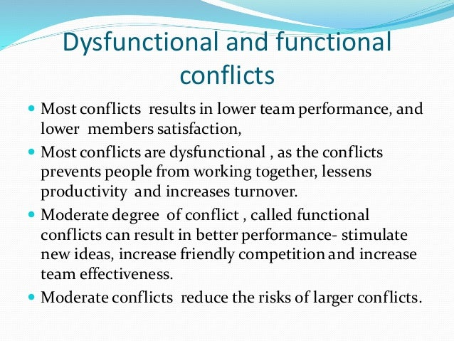 conflicts in the team environment how Workplaces that work overview conflict at work  » workplaces that work » productive work teams workplaces that work  an environment where the input from.