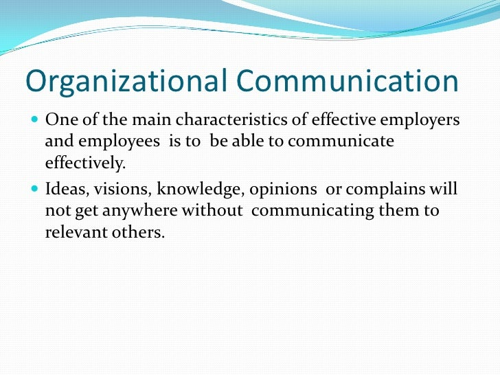 6 main characteristics of communication The 7 cs of communication is a well-known checklist that helps you to communicate clearly and effectively each email has only one main topic 6 complete.