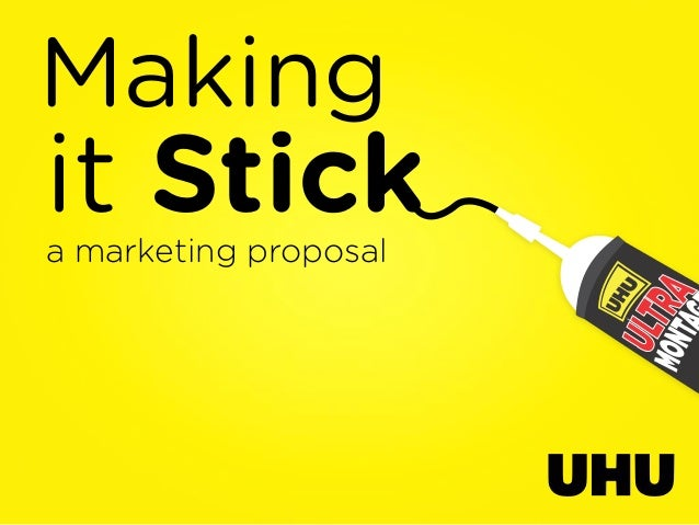Makingit Sticka marketing proposal