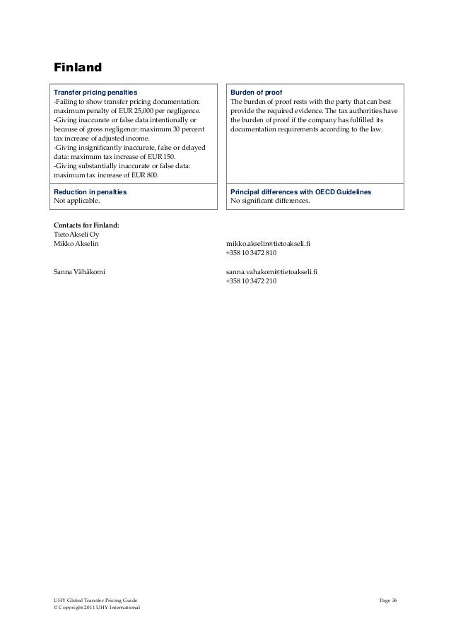 oecd transfer pricing guidelines 2011 pdf