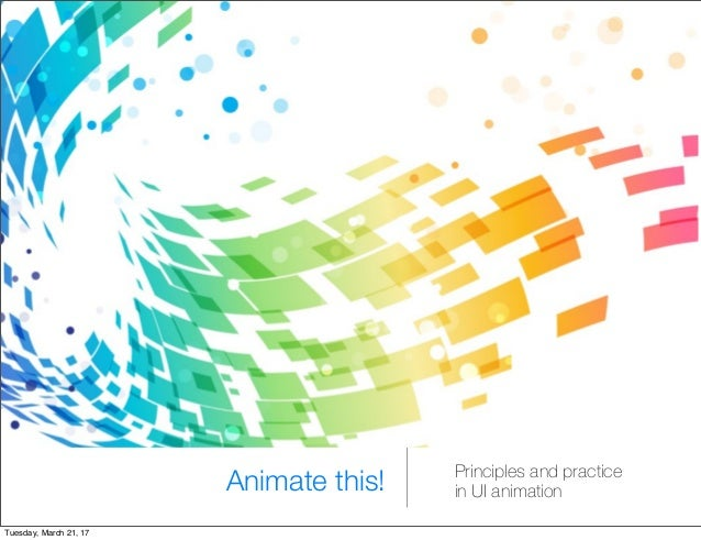 UI Animation principles and practice with GSAP