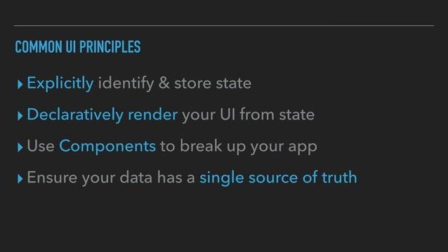 Common UI patterns
