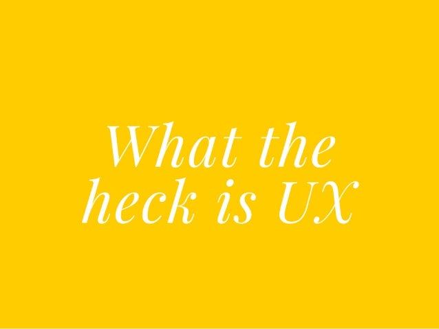 UI/UX Workshop Slide 3