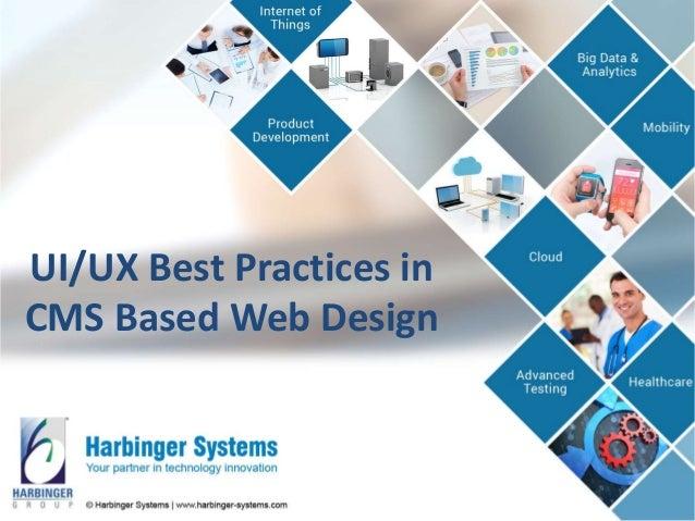 UI/UX Best Practices in CMS Based Web Design