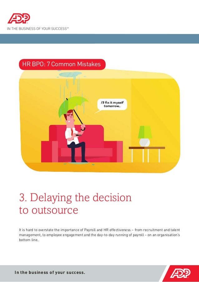 Dissertation outsourcing 7 decision making