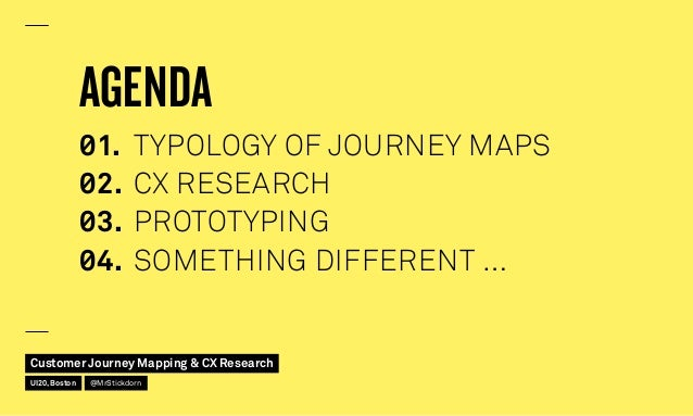 Customer Journey Mapping and CX Research Slide 3