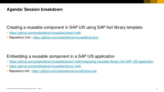 Creating reusable components in SAP UI5