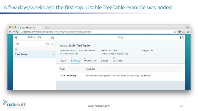 Sapui5 Smart Table Example