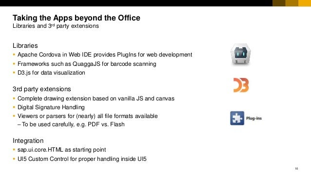 UI5 Apps beyond the office (UI5con)