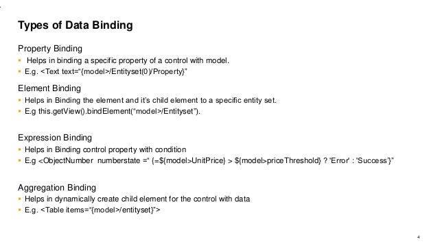 Ui5con blr databinding