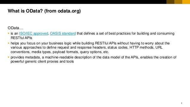 UI5Con presentation on UI5 OData V4 Model