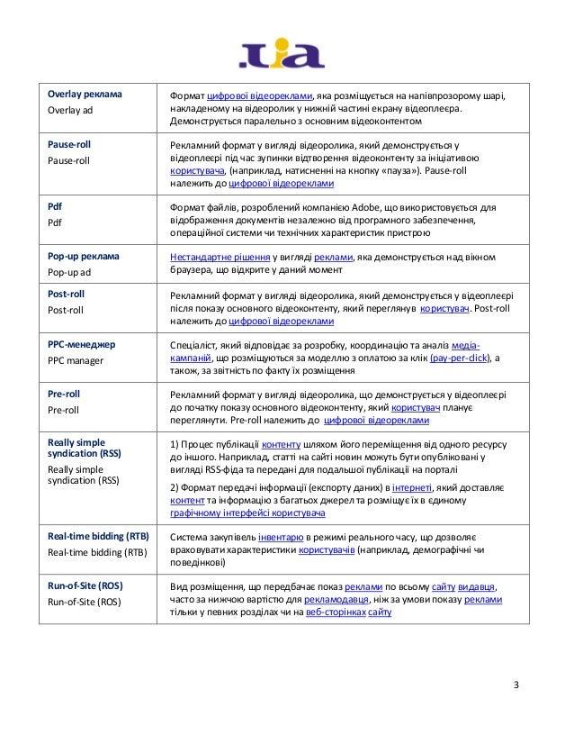 Internet Marketing Glossary English-Ukrainian Slide 3