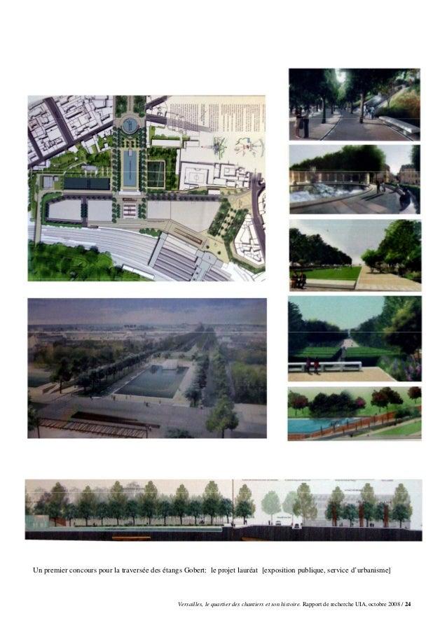 Un premier concours pour la traversée des étangs Gobert: le projet lauréat [exposition publique, service d'urbanisme]     ...