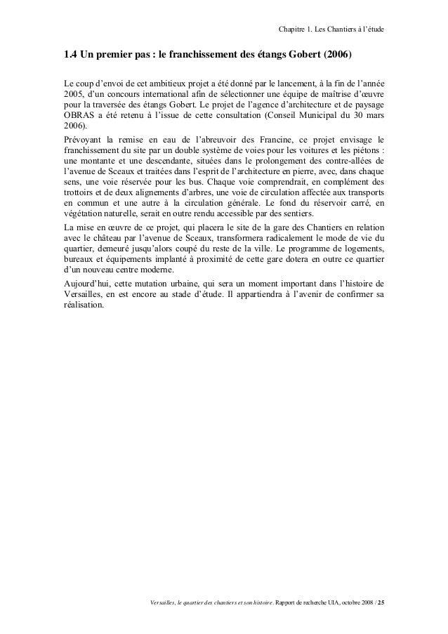 Chapitre 1. Les Chantiers à l'étude1.4 Un premier pas : le franchissement des étangs Gobert (2006)Le coup d'envoi de cet a...