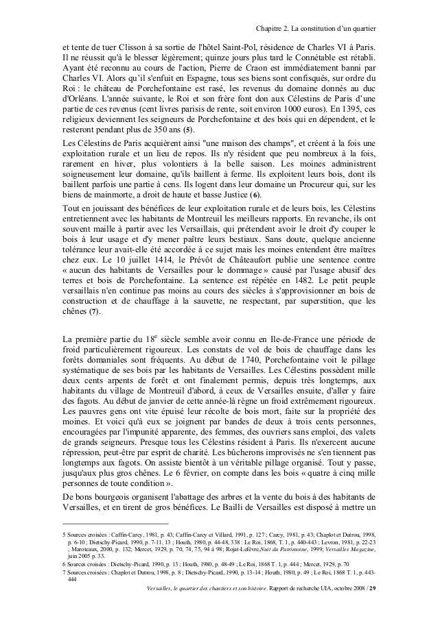 Chapitre 2. La constitution d'un quartieret tente de tuer Clisson à sa sortie de lhôtel Saint-Pol, résidence de Charles VI...