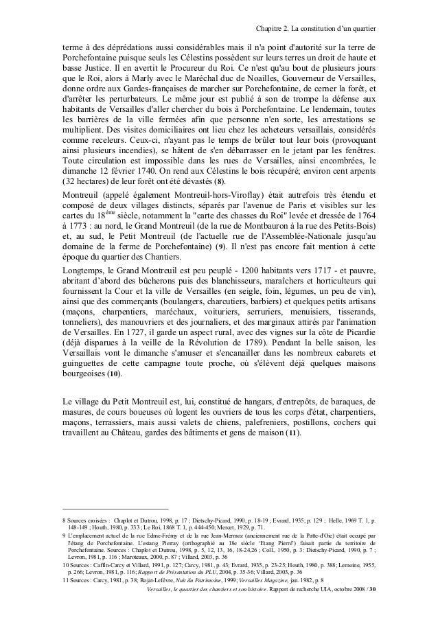 Chapitre 2. La constitution d'un quartierterme à des déprédations aussi considérables mais il na point dautorité sur la te...