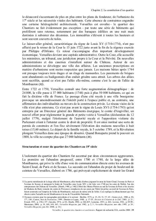 Chapitre 2. La constitution d'un quartierle désaccord saccentuant de plus en plus entre les plans du fondateur, de lurbani...
